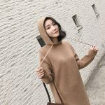 Autumn Hooded Long Sweater Dress | Jennie – BlackPink
