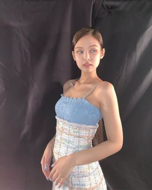 Sky Blue Dress | Jennie – BlackPink