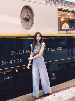 Tweed Sandals | Jennie – BlackPink