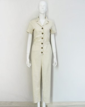 Yuna Collared Buttons Jumpsuit (5)