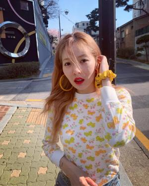 Butterflies Sweater | Hyuna