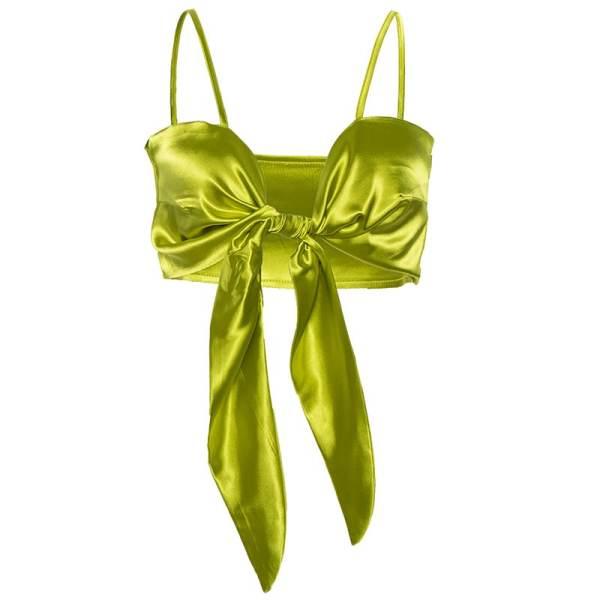 Green Sling Sexy Camisole | Hyuna