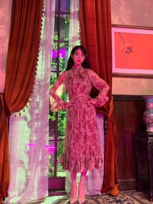 Blossom Dress | IU – Hotel Del Luna