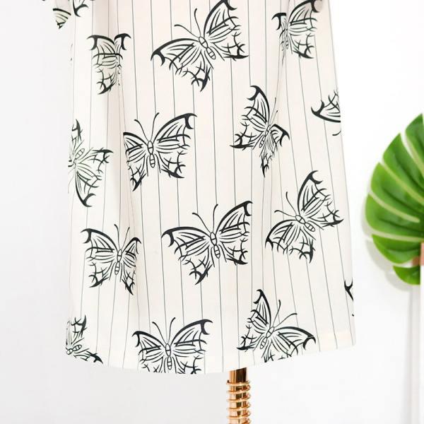 Butterfly Print Dress | IU – Hotel Del Luna