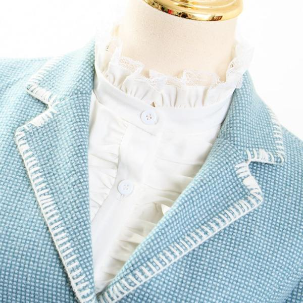 Pastel Blue Blazer | IU – Hotel Del Luna