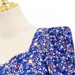 Squared Blue Flower Shirt | IU – Hotel Del Luna