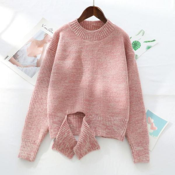 Pink Deconstructed Sweater | Irene – Red Velvet