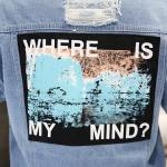 """Where Is My Mind"" Jeans Jacket 