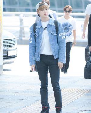 """Where Is My Mind"" Jeans Jacket   Jin – BTS"