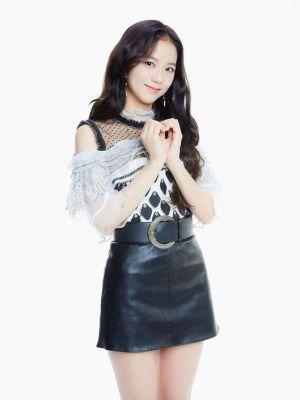 Off Shoulder Diamond Embroidery Lace Dress | Jisoo – BlackPink