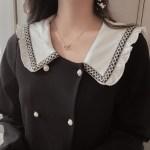 Sailor Collar Long Sleeve Dress | Chaeryeong – ITZY