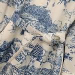 Landscape Scenery Print Shirt Dress | Irene – Red Velvet