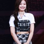 Black And White Plaid Skirt | Jennie – BlackPink