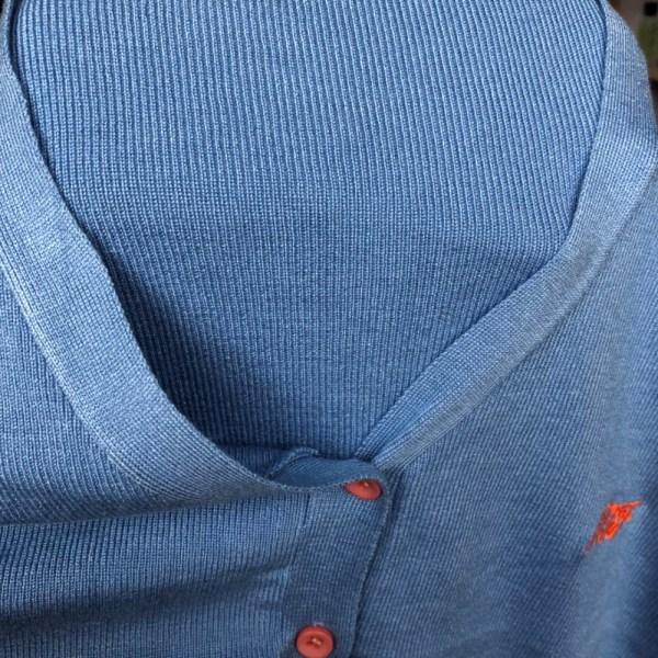 Puff Sleeve Blue Blouse | Jisoo – BlackPink