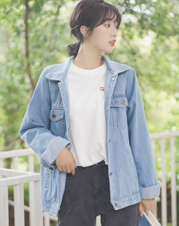 Loose Casual Jeans Jacket