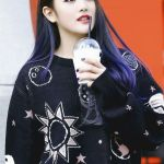 Outer Space Print Sweater | Minnie – (G)I-DLE