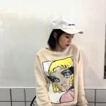 Anime Girl Print Sweater | Momo – Twice
