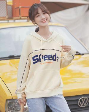 Yellow Speed Plaid Hoodie (1)
