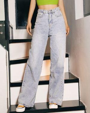 High Waist Wide Leg Jeans (1)