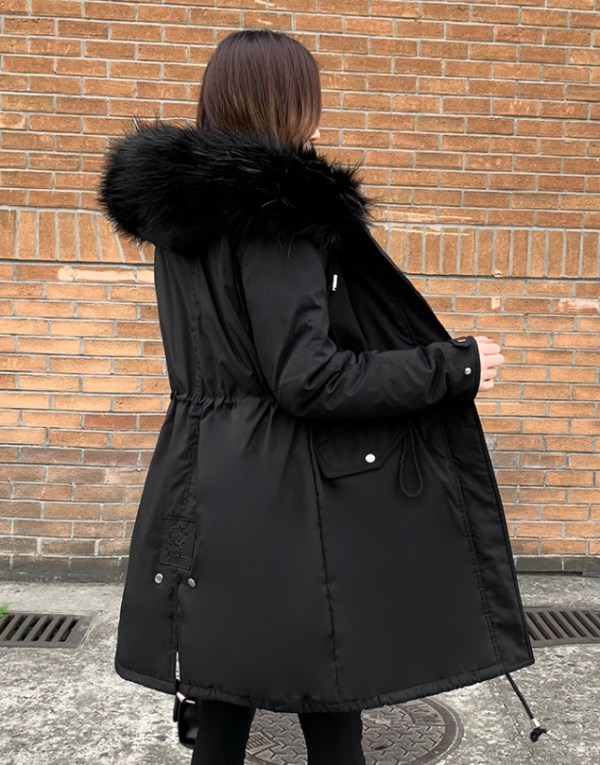 Long Black Warm Parka | Jennie – BlackPink
