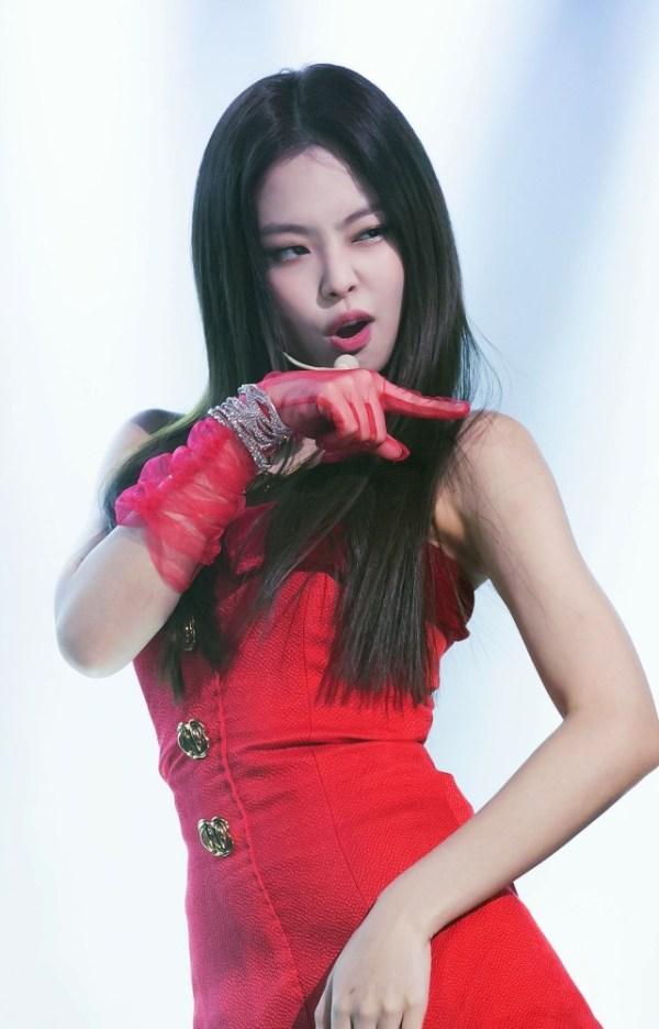 Red Mini Tube Dress | Jennie – BlackPink