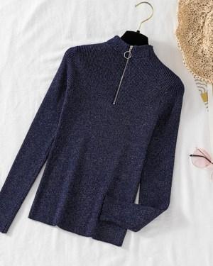 Jihyo Slim Fit Zip Up Sweatshirt (9)