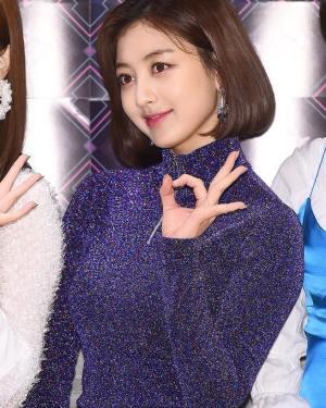 Slim Fit Zip Up Sweatshirt   Jihyo – Twice