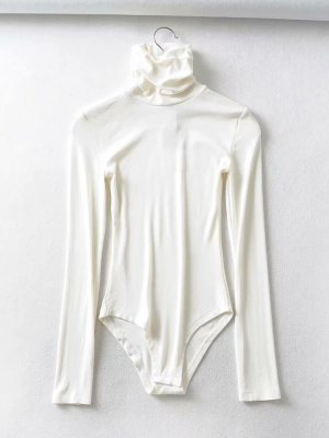 Lisa Turtleneck Fit Long Sleeve Jumpsuit (9)