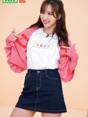 Ruffled Striped Campus Style Cardigan   Mina – Twice