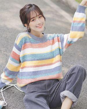 Multicolored Pastel Sweater