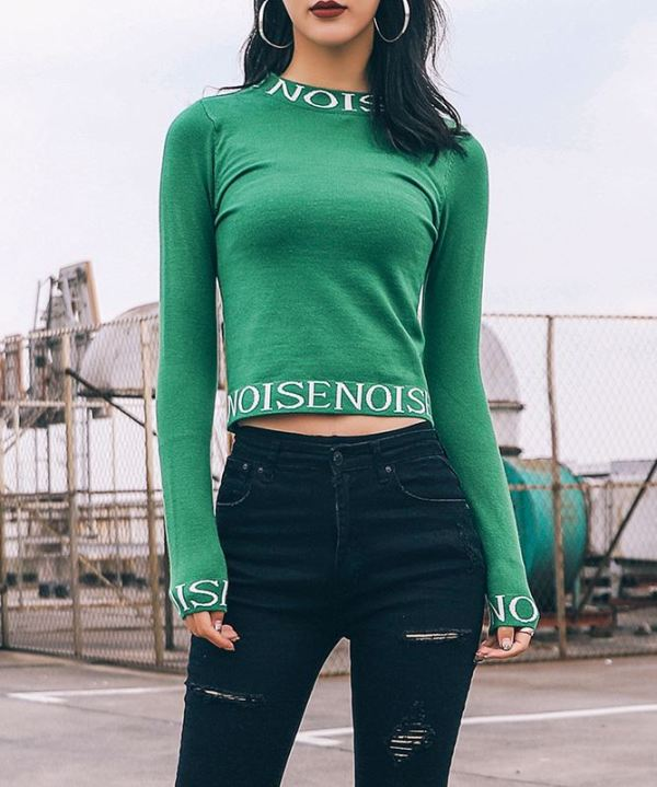 """Noise"" Sweater"