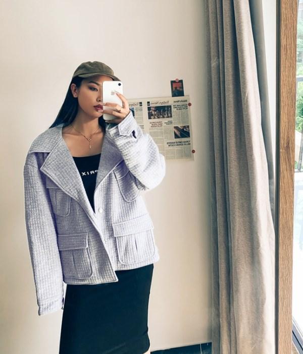 Oversize Formal Cotton Coat