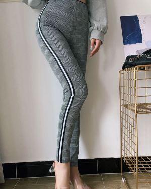 Tight Checkered Pants (1)