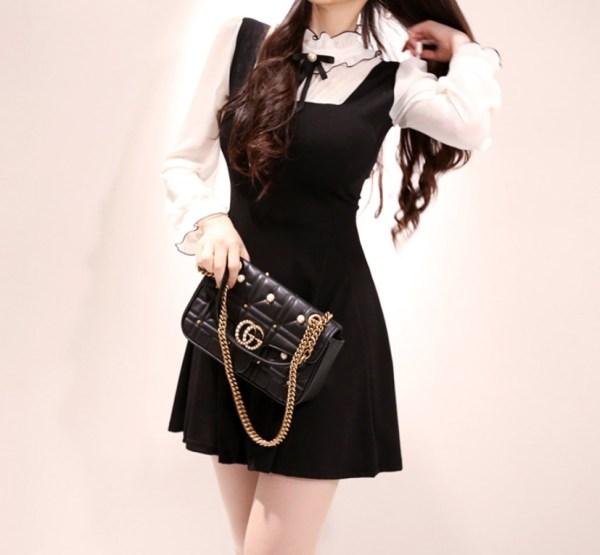 Two-piece Like Blouse And Skirt Dress | Dahyun – Twice