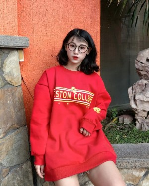 IU Boston College Red Sweatshirt (1)