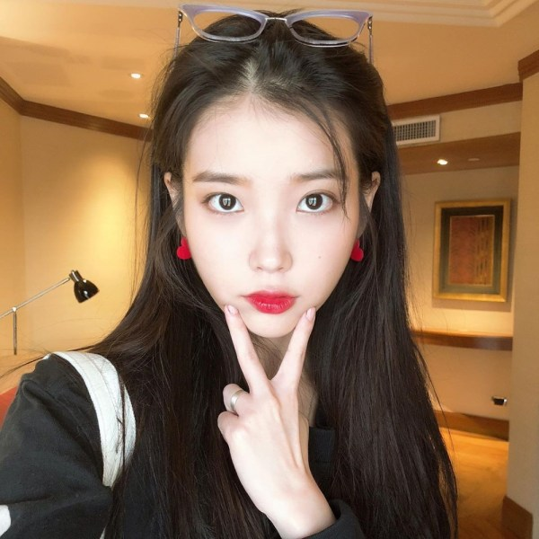 Red Heart Earrings | IU