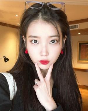 Red Heart Earrings | IU