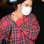Plaid Flannel Sweater | Suho – EXO