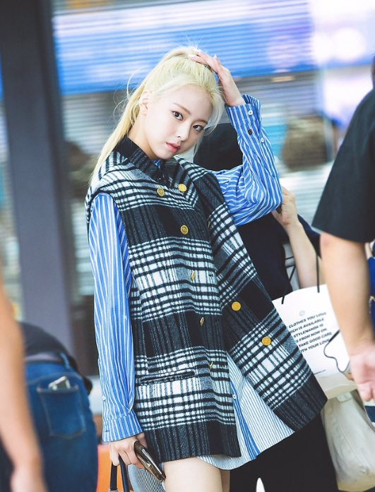 Checkered Chicness – Yuna