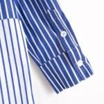 Striped Blue White Shirt | Yuna – ITZY
