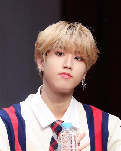 Striped Multicolor Lines Cardigan | Jisung – Stray Kids