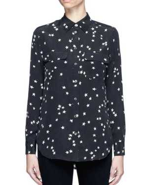 Jeongin Stary Silk Long Sleeve Shirt 1