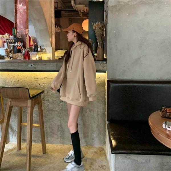 Oversized Kangaroo Pocket Hoodie | Jin – BTS