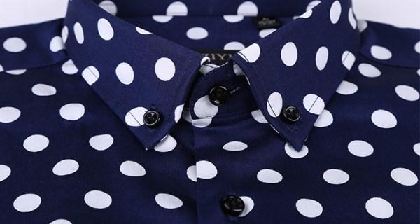 Polka Dot Long Sleeve Shirt | Seungmin – Stray Kids
