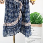 Blue Floral Irregular Cut Skirt | Yoon Se Ri – Crash Landing On You