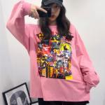 Graffiti Oversize Sweater | Hwasa – Mamamoo