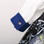 Twin Bee Embroidered Long Sleeve Shirt | Jennie – Blackpink