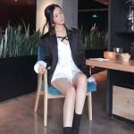 Studded Collar Bomber Jacket | Jin – BTS