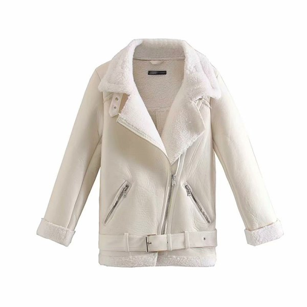 White Lambskin Motorcycle Jacket | Jo Yi Seo – Itaewon Class