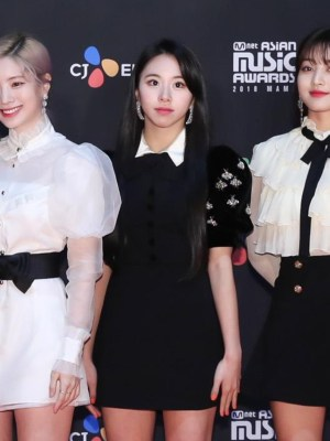 Bee Embellished Velvet Short Sleeve Dress | Chaeyoung – Twice